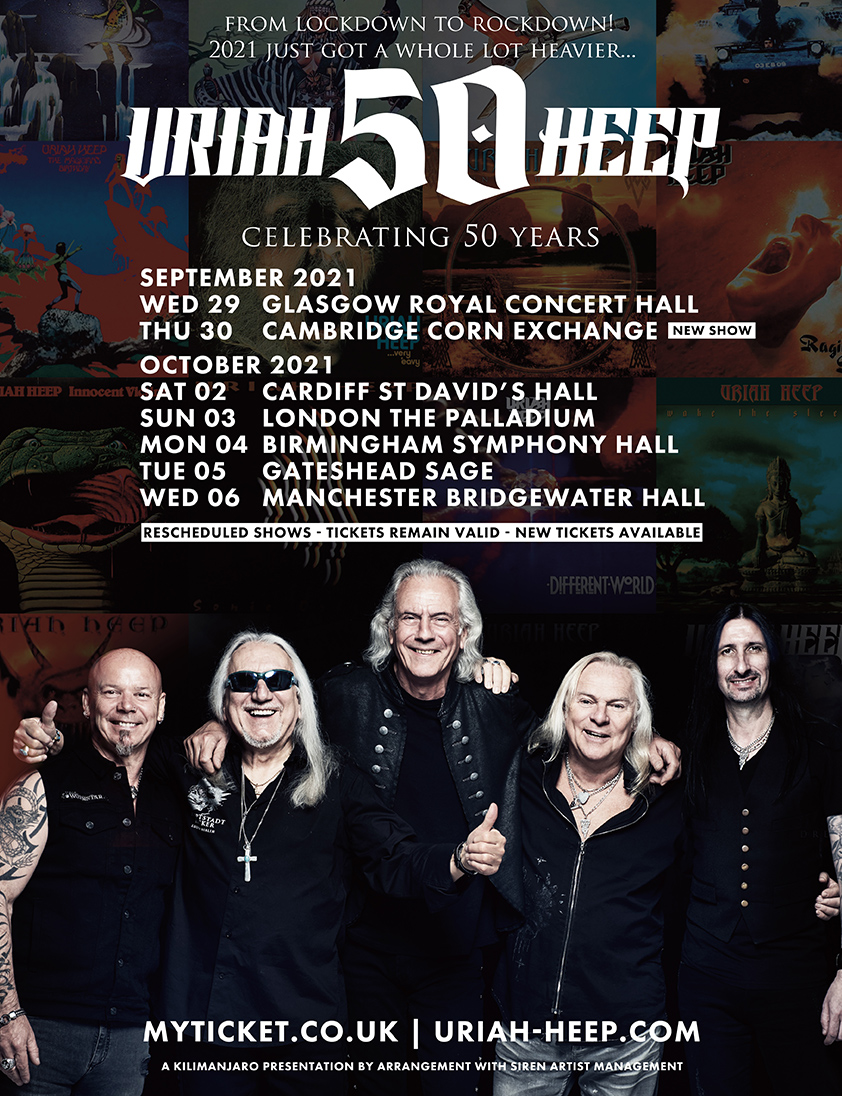 The Official Website Of Uriah Heep
