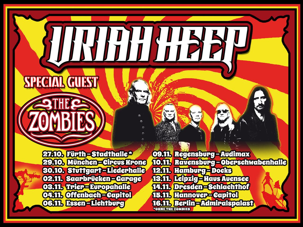 URIAH HEEP - Page 2 Germantourposter