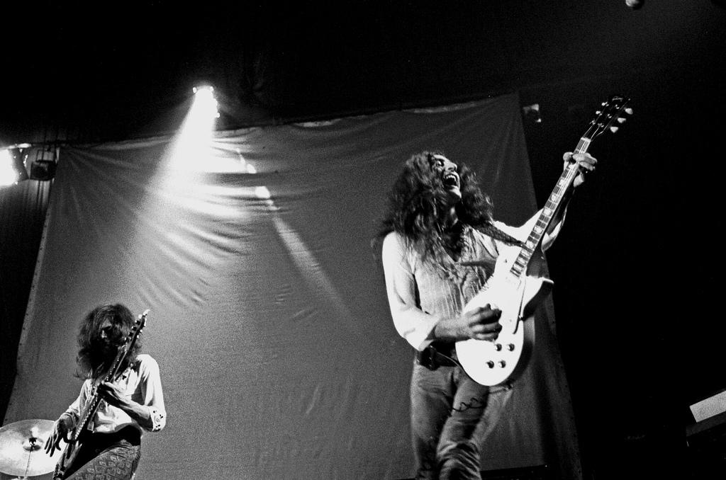 Uriah Heep Live In Hamburg 1973 1973 02 02 Hamburg Gary Thain And Ken Hensley